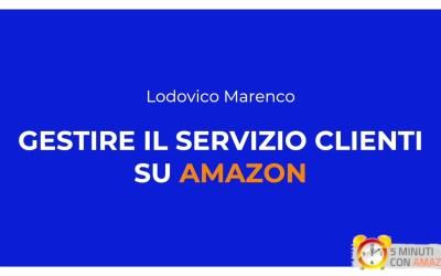Gestire il servizio clienti su Amazon