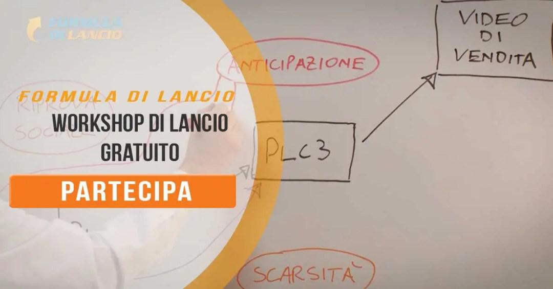 Formula Di Lancio Workshop - Lezione 1