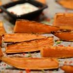 Süßkartoffelwedges