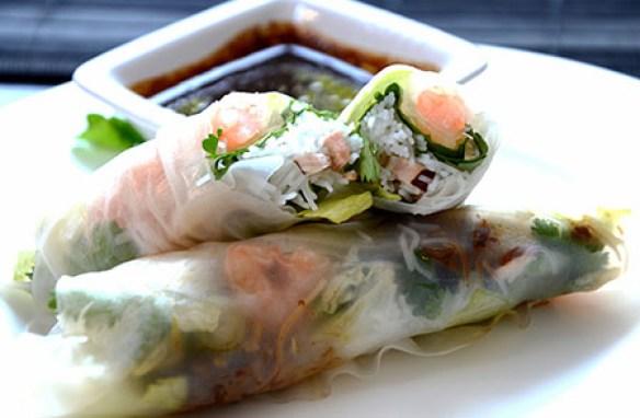 Vietnamesische Summer Rolls