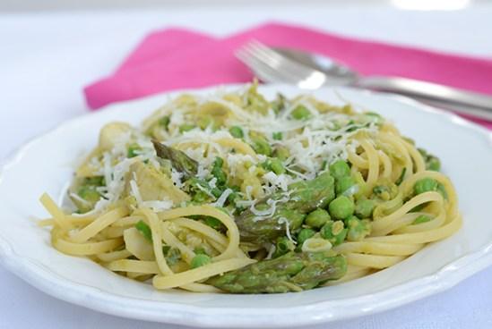 Grüne Pasta