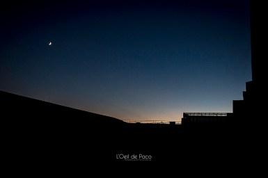 Photo #2 – Une lune dans la ville