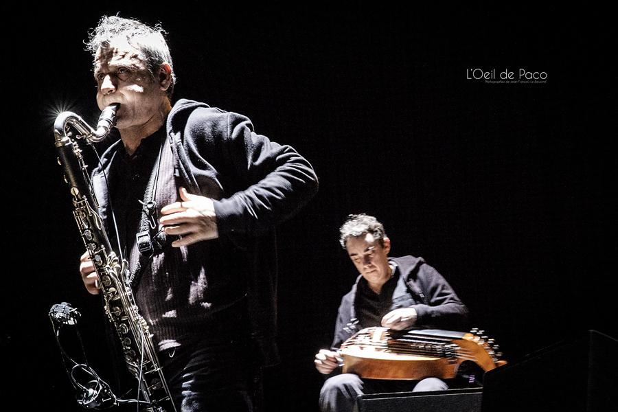 Michel Aumont & Le grand orchestre Armorigene à La Citrouille (2)