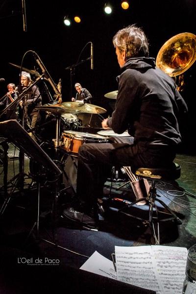 Michel Aumont & Le grand orchestre Armorigene à La Citrouille (3)