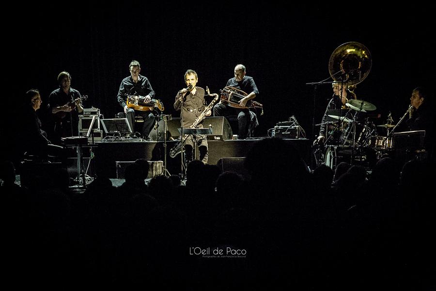 Michel Aumont & Le grand orchestre Armorigene à La Citrouille (6)