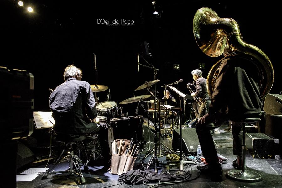 Michel Aumont & Le grand orchestre Armorigene à La Citrouille (7)