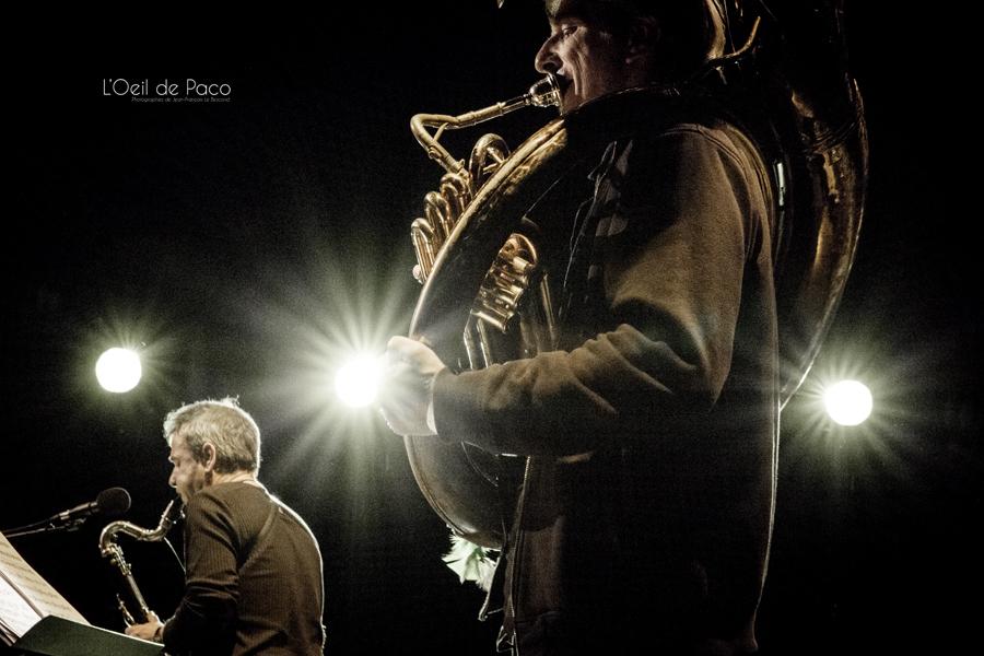 Michel Aumont & Le grand orchestre Armorigene à La Citrouille (10)