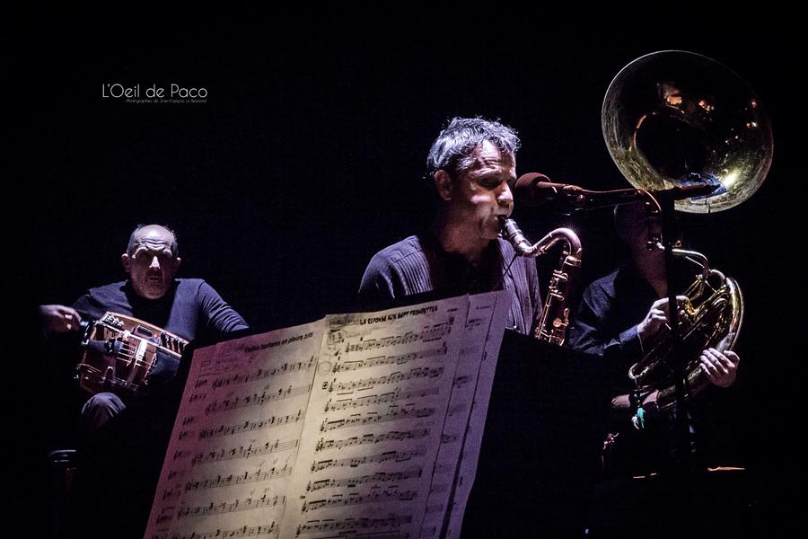 Michel Aumont & Le grand orchestre Armorigene à La Citrouille (14)