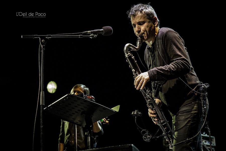 Michel Aumont & Le grand orchestre Armorigene à La Citrouille (17)