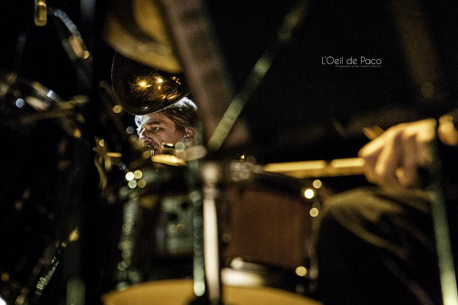Michel Aumont & Le grand orchestre Armorigene à La Citrouille (19)