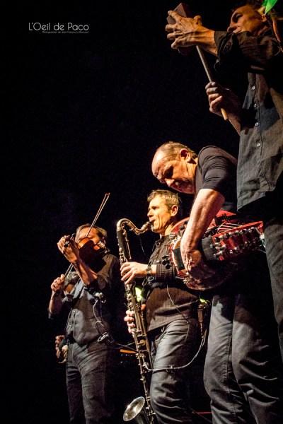 Michel Aumont & Le grand orchestre Armorigene à La Citrouille (24)