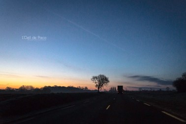 Photo #66 – Sunrise on the road