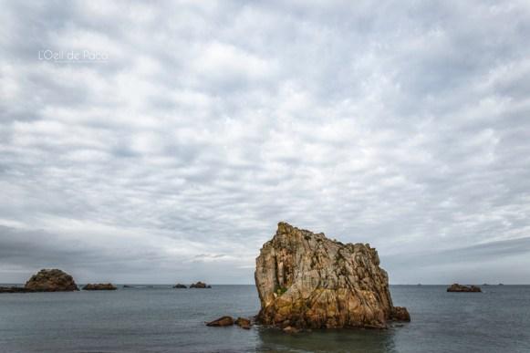Photo #48 – Un rocher à la mer