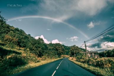 Photo #242 – Un arc dans le ciel