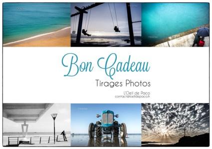 L'Oeil de Paco - Bon Cadeau - Tirage Photo