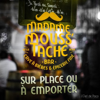 L'Oeil de Paco - Pauline Balthazar - Madame Mouss'tache (2)