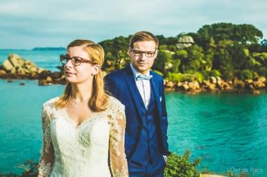 L'Oeil de Paco - Alexandre et Charline - After wedding - Ploumanac'h (17)