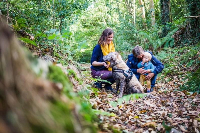 Une famille au Bois Riou - Trevou-Treguignec (21)
