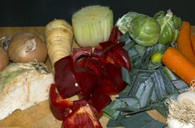 Jeg tror i grunnen ikke at du behøver å være kresen nå det gjelder utvalget av grønnsaker!