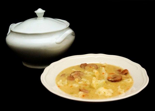 Ingenting varmer mer en en god suppe
