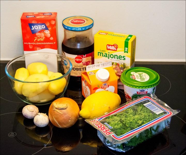 Lett-majonesen var en glipp. Jeg bruker aldri lett-produkter.