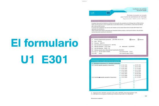 El formulario U1 E301