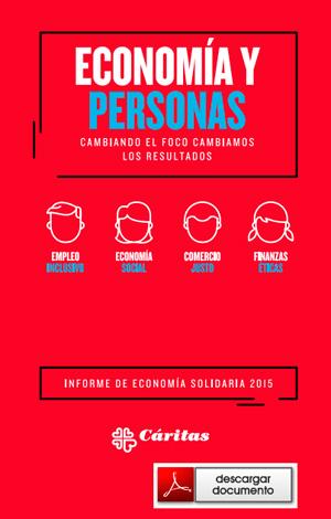 Informe Cárits 2015 sobre economía solidaria