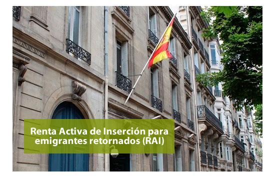 RAI para emigrantes retornados