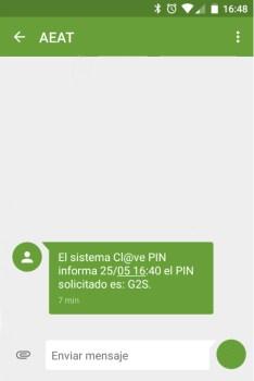 Obtener clave PIN sistema clave