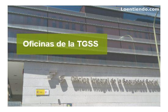 Oficinas de la TGSS