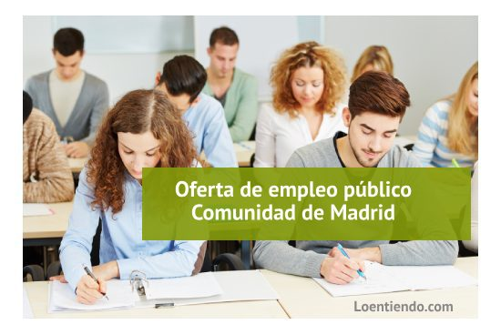 Oferta Empleo Público Comunidad de Madrid