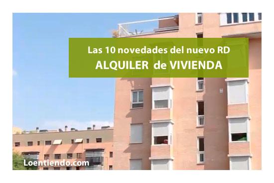 10 novedades nuevo real decreto alquiler vivienda