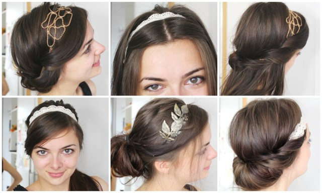 six ways to wear headbands - loepsie
