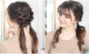 quick & cute braided hairstyle