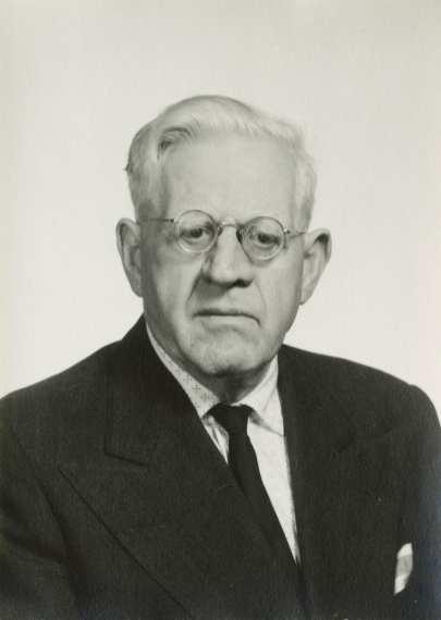 Portrait of Karl Loewenstein, no date