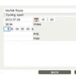 Exporting routes from Endomondo (and using them in Google