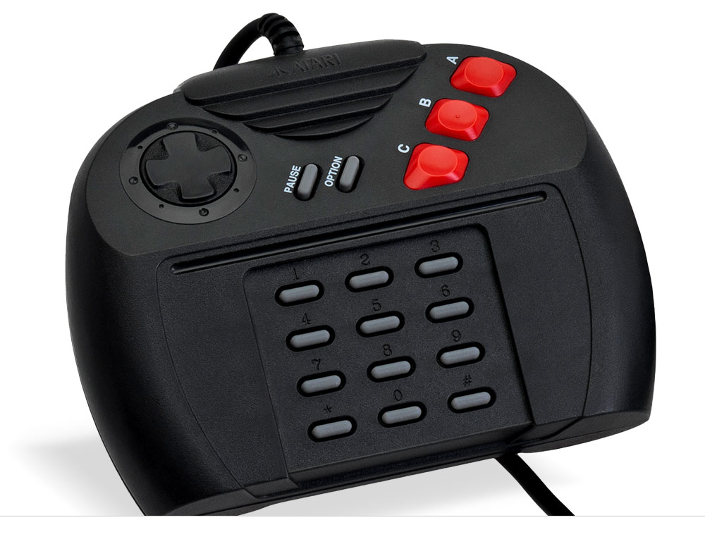 The Atari Jaguar Controller