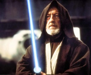 "coupon ""bit"" alec guinness star wars lightsaber"