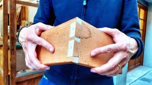gli incastri: lezioni di legno banner incastri