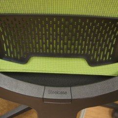 Steelcase Reply Chair Review Balcony Table And Chairs Lime Green Mesh Back Operators