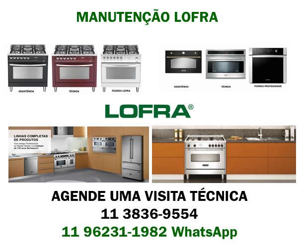 Manutenção fogão Lofra
