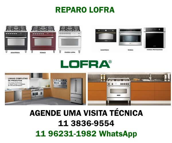 Reparo fogão Lofra