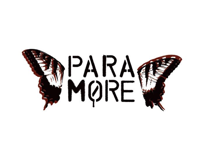 paramore logo logo brands
