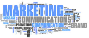 "Word Cloud ""Marketing Communications"""