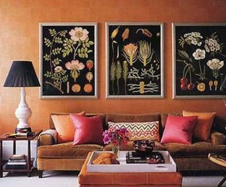 Kwiatowe Trendy w designie 2017 - Plakaty i dekoracje wnętrz