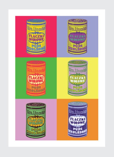 Plakat Pop art do kuchni