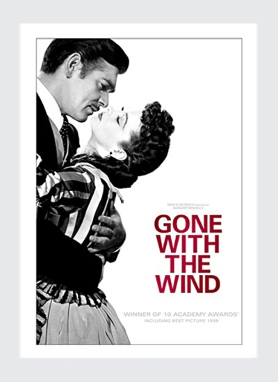 Plakat filmowy Przeminęło z wiatrem