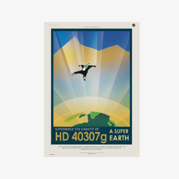 plakat do pobrania plakaty kosmos Plakat NASA GRAWITACJA