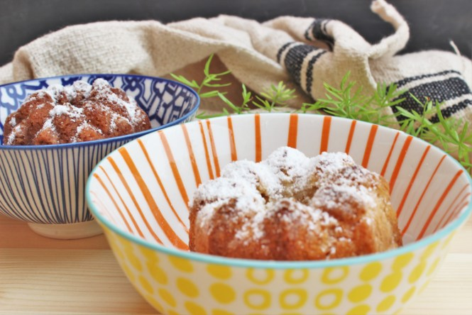 Receta Mini Bundts en Loft & Table