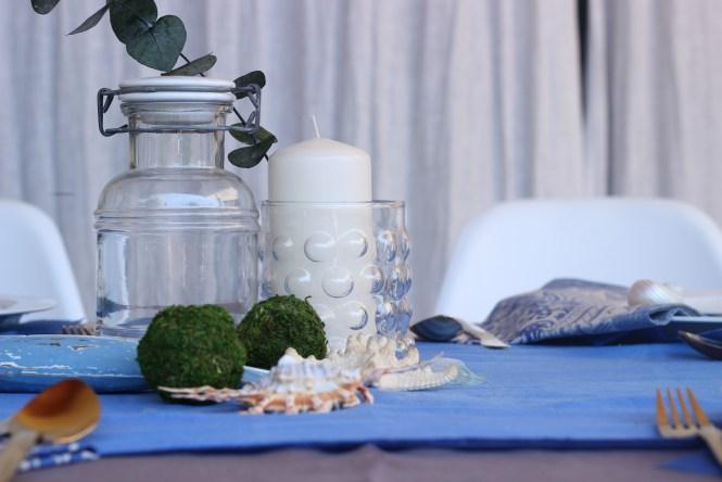 centro floral de la mesa Loft & Table